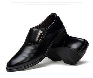 Men Formal Shoes Pointed Toe Patent Leather Oxford Shoes For Men Dress Business1