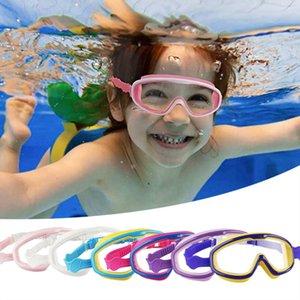 لا تسرب الضباب uv داخلي في الهواء الطلق مع الأنف مقطع سدادات نظارات مرنة للجنسين السباحة الغوص الزجاج