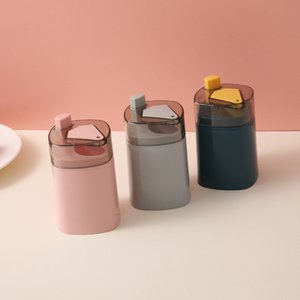 Portafoglio automatico portafoglio contenitore creativo plastica tavolo domestico toothpick scatola di immagazzinaggio portatile denti a secchiello distributore 80 J2