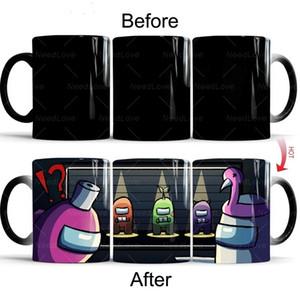 DHL Among Us Coffee Mug Hot Thermo Sensitive Change Color Water Milk Tea Cup Boom2016