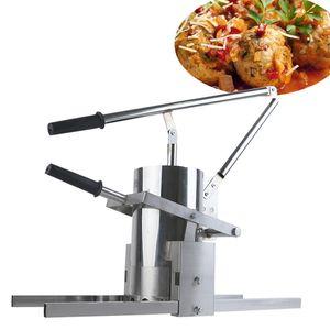 2020multif fonksiyonlu köfte makinesi son ticari küçük manuel sebze köfte makinesi / domuz kase ekstruder / turp köfte mA şekillendirme
