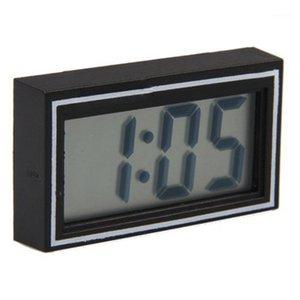 حار بيع مصغرة poratble الإلكترونية سيارة مكتب التاريخ الوقت التقويم ساعة الرقمية lcd السيارات شاحنة ساعة dashboard1