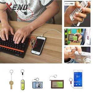 Telefono mobile delle cellule della macchina fotografica Holder cordicella del collo staccabile multifunzione Strap Id Card Key Ring Fai da te cellulare cinghia da jllzIJ