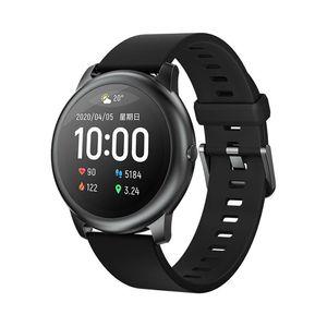 Xiaomi Youpin Original Haylou Solar LS05 Smart Watch Sport Metal Round Case Heart Rate Sleep Monitor IP68 Waterproof 30 Day Battery