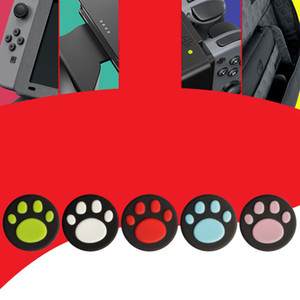 Analog Caps for JoyCon Silicone Joystick Thumb Stick Grip Cover Case For Nintendo Switch NS Lite Gamepad Controller