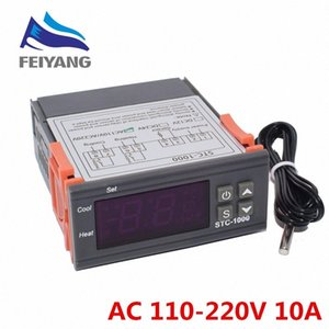 10PCS STC-1000 LCD Digital Thermostat Temperature Controller for Incubator Two Relay Output Thermoregulator Heater And Cooler arYt#