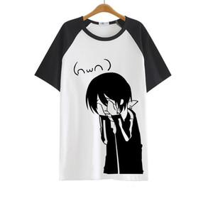 High-Q Hombre Mujer Norigami Tops Tops Imprimir Nora Tees Yato T-shirts Iki Hiyori Noragami Yukine Lover T-shirt T-Shirt Tshirt Y0119