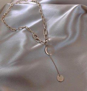 hot sale luxury jewelry women G-Letter designer Pendant necklace high-end version elegant gold chain for men necklaces couple fashion style