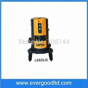 Wholesale-LS623JS Self Levelng Laser Marker Two Cross Lines & Plumb Beam 1V 2H 1D Free Shipping KPFq#