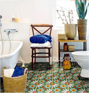 Sunflower tiles Retro tiles Nordic kitchen bathroom tile courtyard balcony porch wall floor tiles tile