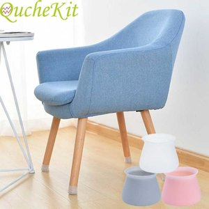 4  ... 8  ... 16 pieces of table chair leg silicone plug floor protection mat bottom plate non slip furniture table foot cover