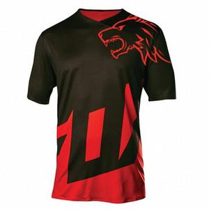 2018 New Quick Dry Short Sleeve Downhill Jersey Motocross Cycling Jerseys Moto GP Mountain Bike T-Shirt BMX DH Cycling Clothes 4i7b#