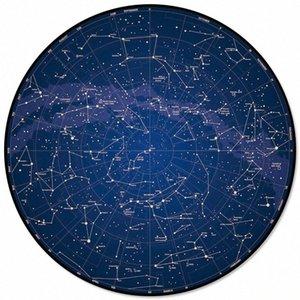 Gece Sky Yıldız Tekerlek Ana Salon Yuvarlak Kilim İçin Çocuk Odaları Kaymaz Mohawk Halılar Mohawk Carpe oDdM # İçin Desen Kilimler Ve Halılar