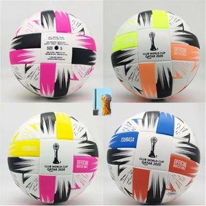 2020 Club Coupe du monde Taille 5 ballons de soccer balle belle de haute qualité match de liga Premer 20 21 balles de football (PSIR les balles sans air)