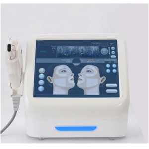 HIFU High Intensity Focused Ultrasound Face Lift Machine Wrinkle Removal With 5 Heads For Face And Body