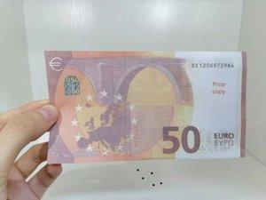 Neue Lernwährung Spielzeug Papier Currencys Kinderspielzeug Simulationen 50 Euro Geld Papier Währung Spiel Student Teaching Aids Kindergarten