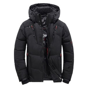 Men's Coats Boys Fashion Casual Warm Winter Hat Detachable Zipper Coat Outwear Jacket Top Mens high quality Tops Blouse