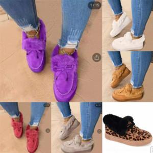 GD3NO الصنادل الشرائح أحذية الثلوج ماركة النساء مصمم عالية ممسحة مصمم غزل زائد المخملية جودة القطن أحذية VFO امرأة أحذية النعال