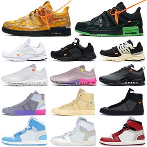 nike off white men shoes ow dunk presto blazer 97 scarpe da corsa Menta regina mens bianco nero delle donne di formatori esterni da tennis di sport da jogging a piedi con scatola