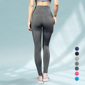 Yuerlian 15% Spandex Spandex High Taille High Fitness Legging respirant Pantalon de yoga Pantalon de yoga Sport Pant de sport Collants de gym Collants de yoga Leggings
