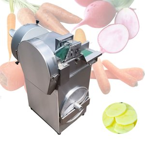 802 double head vegetable cutting machine Brand new vegetable stuffing machine slicer stainless steel body vegetable cutting machine 1800W