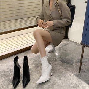 Women's Rubber Boots Autumn Shoes Boots-women Booties Ladies Low Heels booties Winter Footwear Luxury Designer Round