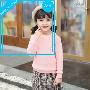 Flower Baby Girls Vest Snoep Winter Herf Cato Children Breien Trui Casual 3-8 Y Kids Clothing