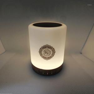 Alto-falante Bluetooth Light Touch Control Table Lâmpada Koran Speaker Alcorão Leitor Muçulmano Jogador Muçulmano Presente Islâmico Quran1