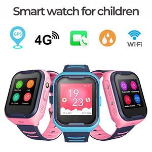 4G Network A36E WiFi GPS SOS Smart Watch Kids Video Chamada IP67 impermeável Despertador câmera Baby Voice Bat Chat SmartWatch