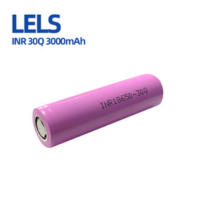 LELS 100% Top Quality 30Q 3000mAh INR18650 Battery Rechargable Lithium Cell 35A High discharge 18650 Battery E Cig Mod Rechargeable