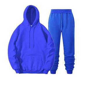 2020 New Tracksuit homens marca macho macho moletom com capuz + calças definir mens hoodie suor terno casual sportswear s-3xl frete grátis Y0121
