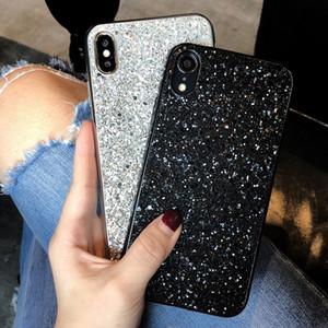 Luxo Bling Glitter Diamond Case para OnePlus 8 Pro 7T Pro 7T 7 Pro Cover para OnePlus 6 6T 7 Fashionsoft Silicone Case Fundas
