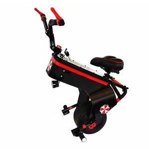 Scooter eléctrico 60V 800W Una rueda Motocicleta auto equilibrio scooters 10 pulgadas con asiento portátil eléctrico uniciclo uno para jóvenes