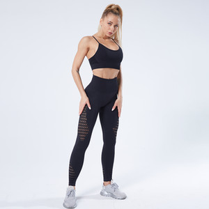 SALSPOR Vital Seamless Yoga Set Women Breathable Sport Bra Push Up Fitness Leggings Gym Clothes Outdoor Sports Shark Sets Y1229
