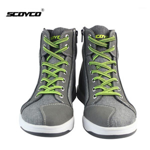 SCOYCO Motorcycle Boots Men Summer Breathable Protective Motocross shoes Botas Moto Touring Riding Motorbike Boots Moto Shoes1