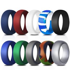 9mm ancho anillo de silicona originalmente simplicidad accesorios versátiles ornamentos mujer hombre banda anillos boda alta calidad 10df k2b