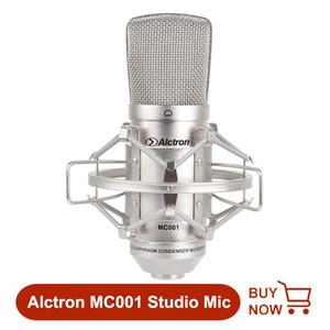 Alctron MC001 profissional diafragma grande FET estúdio microfone condensador de gravação do microfone com montagem