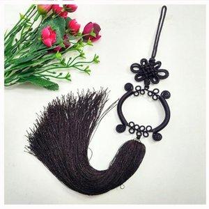 1pcs Guanyin Bassin Chinois Knot Tassel Diy Bijoux Rideau Vêtement Accueil Textile Accessoires Décoratifs Artisanat Pendentif H SQCJPI