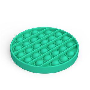 Pop It Fidget Toy Sensory Push Pop Bubble Fidget Sensory Toy Autism Special Needs Anxiety Stress Reliever Green