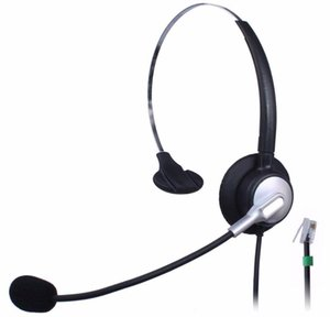 Wantek Call Center Telefono Auricolare per NEC DT300 DSX Polycom 335 400 Avaya 1416 6408D Aastra 6757i Mitel telefoni IP 5330