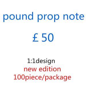 Pound Quality Wholesale Billet 50 Bar Money Play Lb-089 Faux Top Prop Atmosphere Nightclub Eur Movie Fake Rnvhp Ssumk