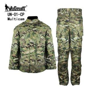 Охотничьи наборы Wosport CS Тактическая форма ACU камуфляж одежды армии боевые одежды боевые куртки брюки костюм