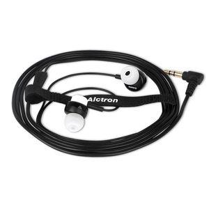 Alctron AE01M In-Ear Earbuds fone de ouvido estéreo de 3,5 mm portátil e elegante