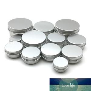 50Pcs Aluminum Tin Jars 5g 10g 15g 20g 30g 50g Metal Empty Cosmetic Face Care Eye Cream Lip Balm Gloss Packaging
