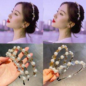 Jahrgang Perle Frauen Haar-Sticks Boutique Kristall Mädchen Stirnbänder süße Prinzessin Frauen Stirnband Haarzusätze für Frauen Bänder Kopf