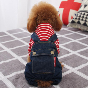 Winter Four Feet Black Red Dog Jacket Puppy Dog Clothes Pet Outfits Costume Chihuahua Poodle Bichon Pet Clothing