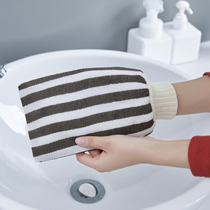 1 шт. Вертикальные полотенца для ванны для ванны Мужская и женская вискозная пряжа Мощный ванна скраб для ванны полотенце набрать задние перчатки для ванны GWE3978