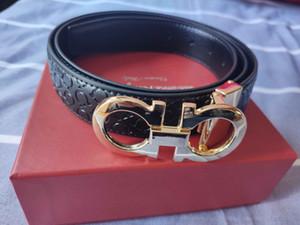 Hot Selling Belts Mens Belts Designer Belt Snake Luxury Belt Leather Business Belts Womens Big Gold Buckle with Gift Box