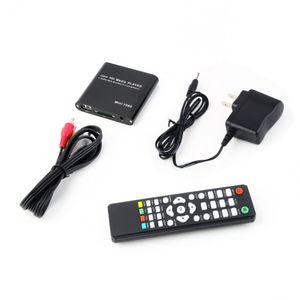 1080P Mini Media Player MKV H.264 RMVB Full HD HOST Kart Okuyucu AVI DIVX MKV MOV HDMOV MP4 M4V PMP AVC FLV VOB MPG DAT, MPEG TS TP M2TS ile