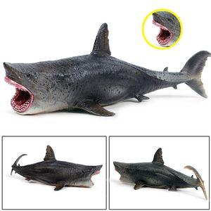 LifeLike Marine Model Toy Toy Arcark Toy Model Model Toy Life Play Shark Blue Chale Tous Arcark Animal PvC Collection Образовательный Гигант Мод Джее